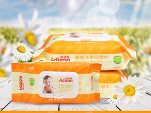 母类婴——湿巾详情页设计