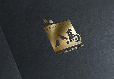 伽马龙茶叶品牌VI设计