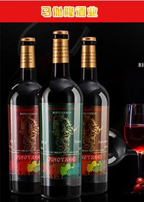 伽马龙品牌策划红酒海报详情设计