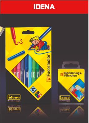 伽马龙品牌策划Idena文具包装设计